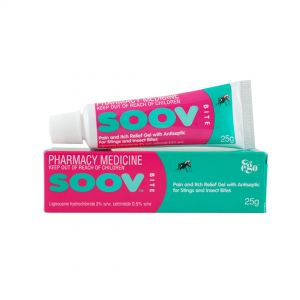 SOOV Bite Antiseptic and Itch Relieving Gel 25g